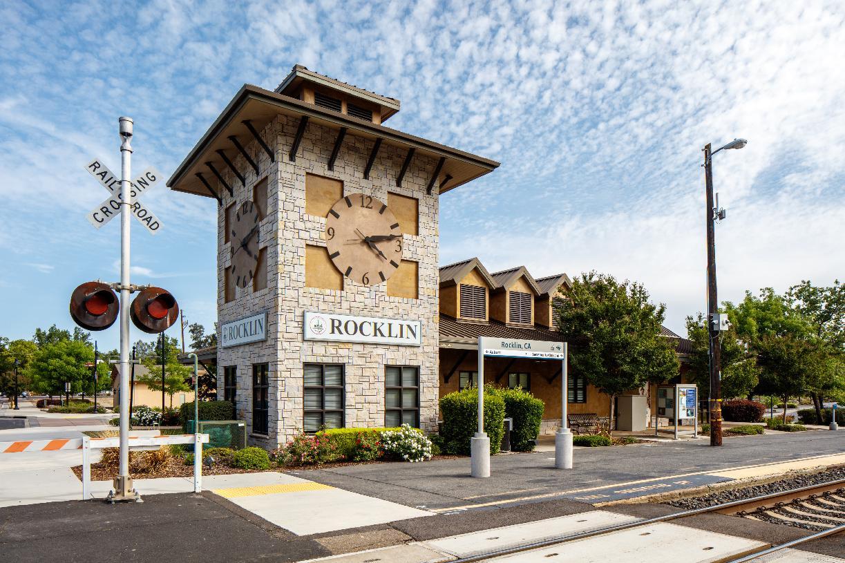 Downtown Rocklin Train Station