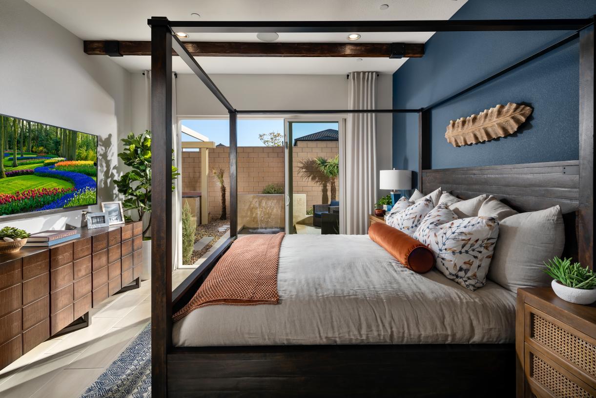 Stunning primary bedroom suite