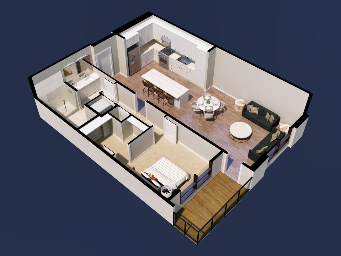 Ruby home design 2D floor plan