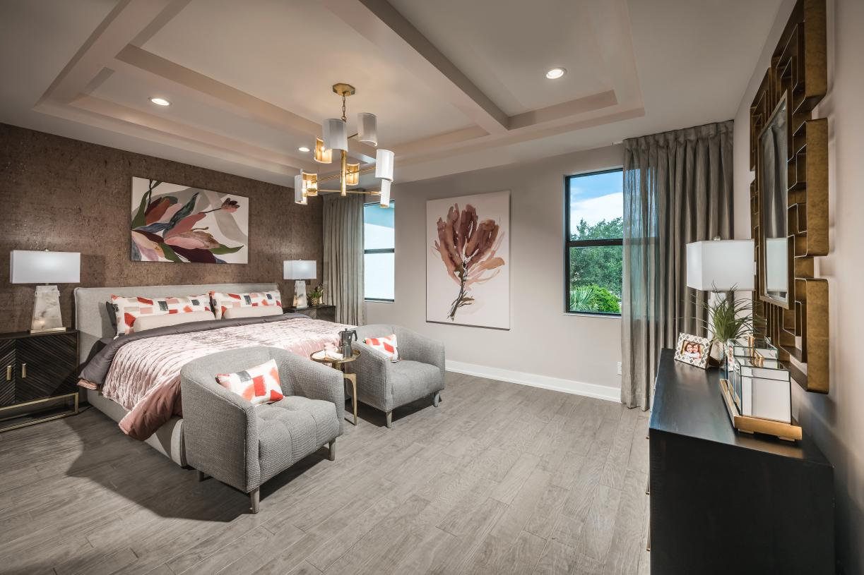 Private primary bedroom suite