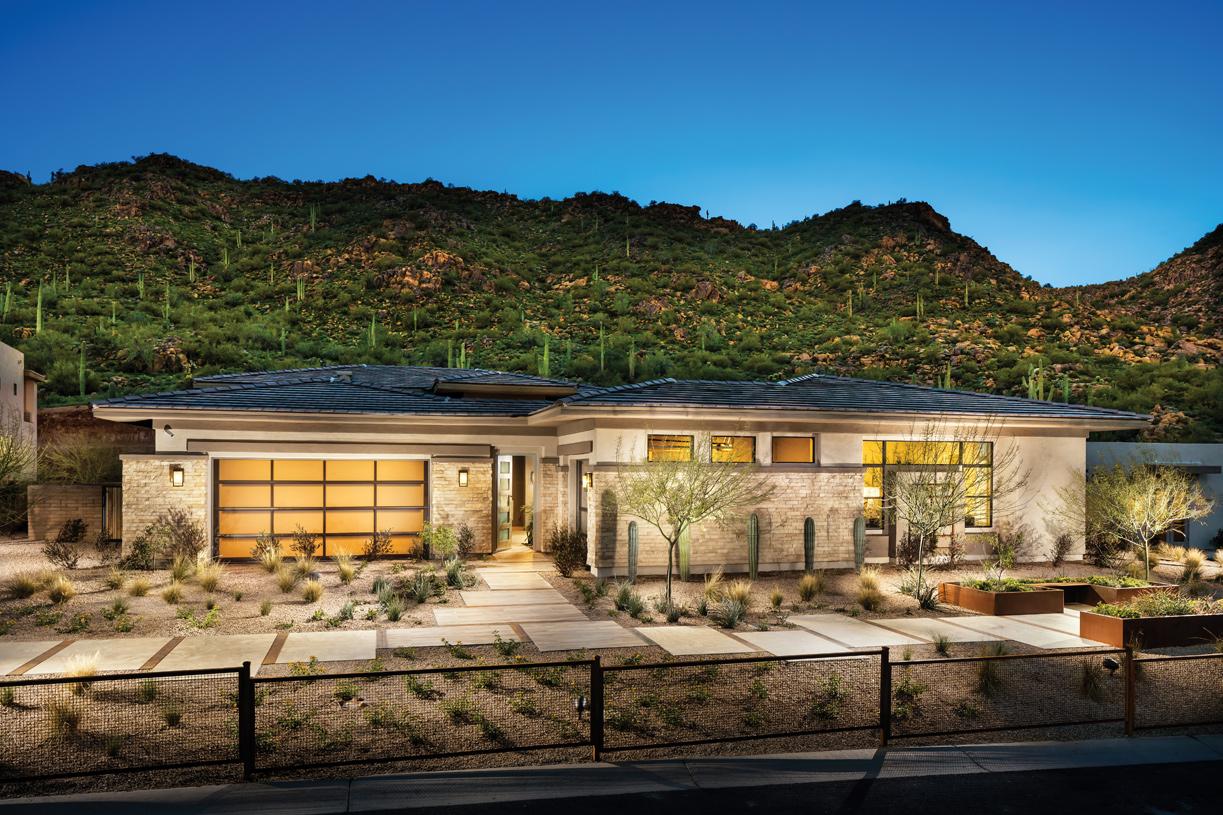 Distinct modern, craftsman, desert contemporary, and prairie architecture
