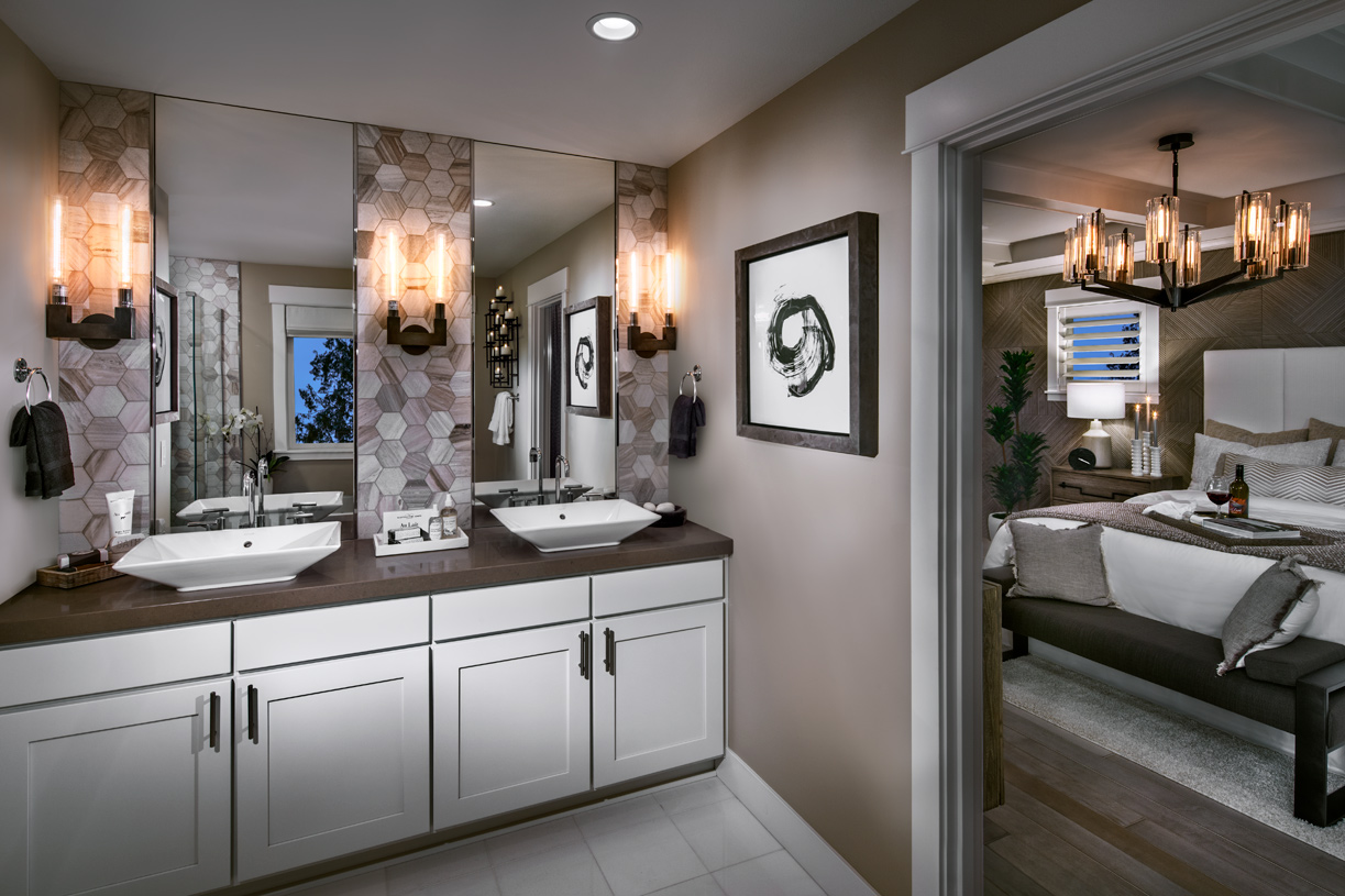From tile choices to cabinet selections to lighting and beyond, you can personalize your home to make it yours