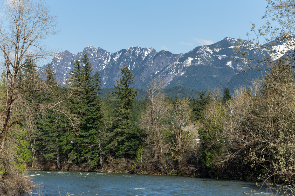 Launch your kayak into the Snoqualmie River thanks to the easy access across the street from the community entrance