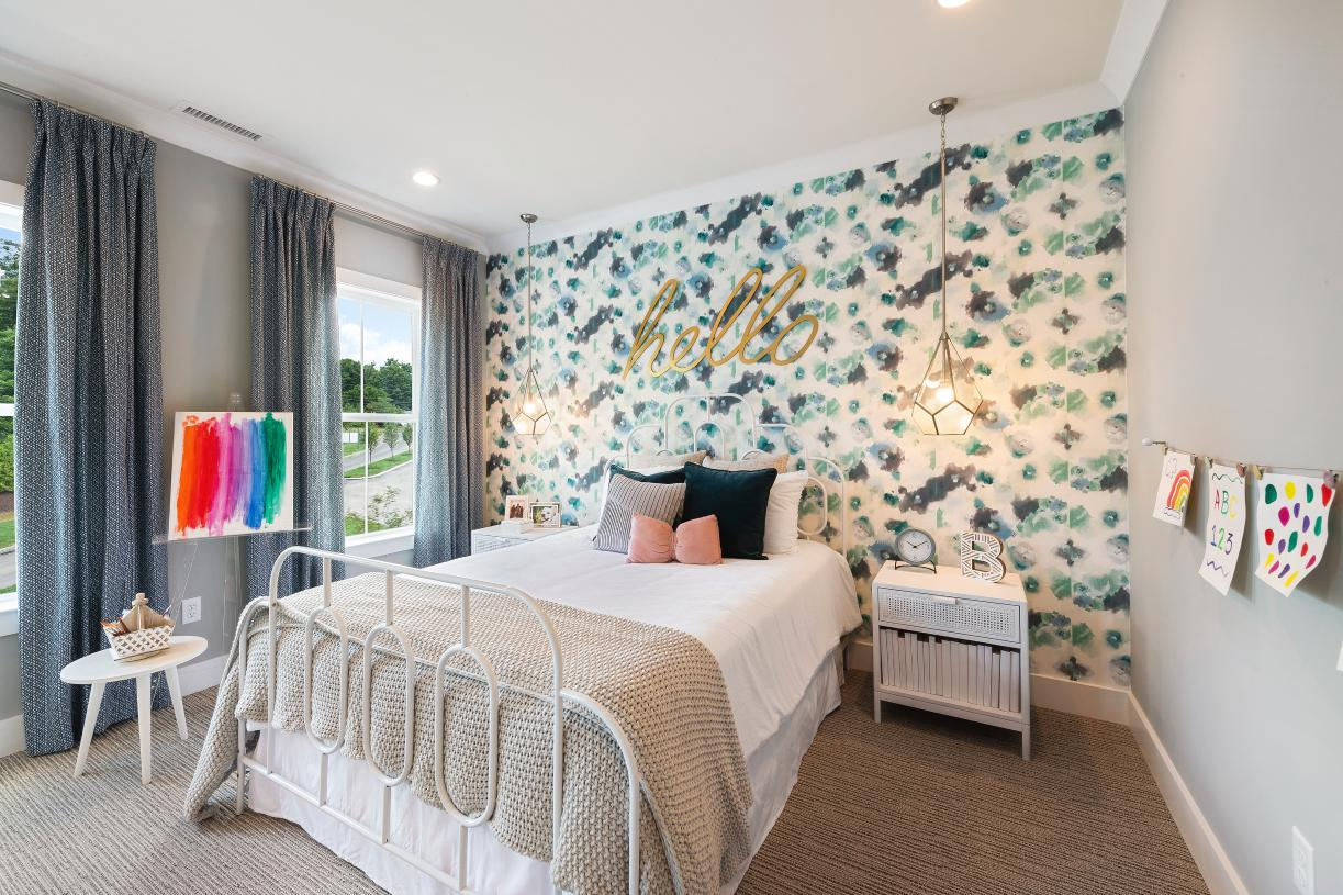 Secondary bedroom is a perfect space for children