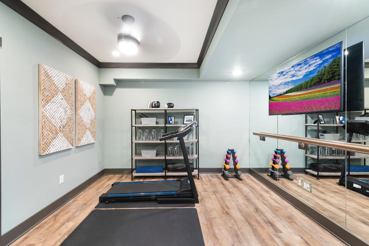 Stay fit in your own private in-home gym