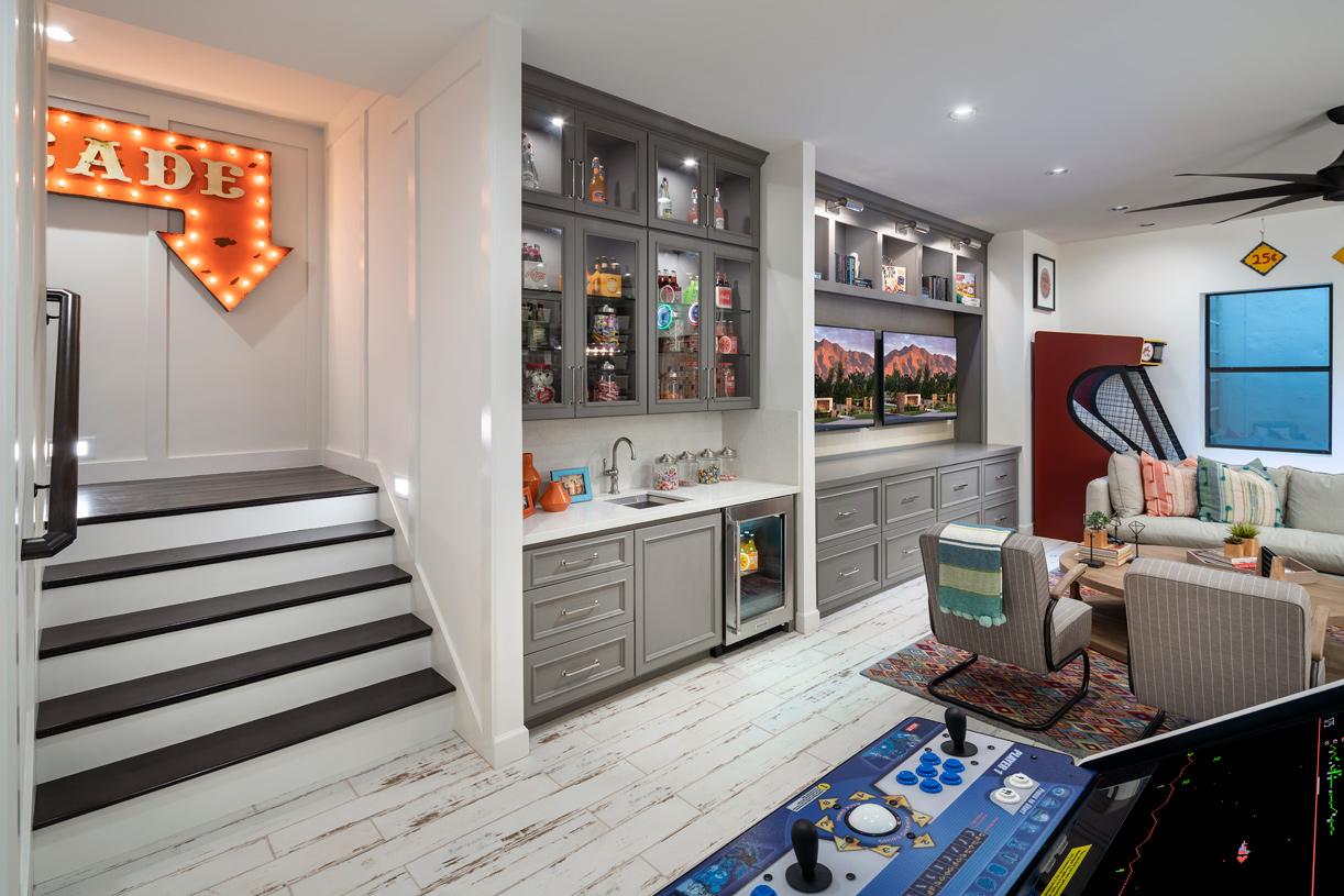 Optional basements and casitas