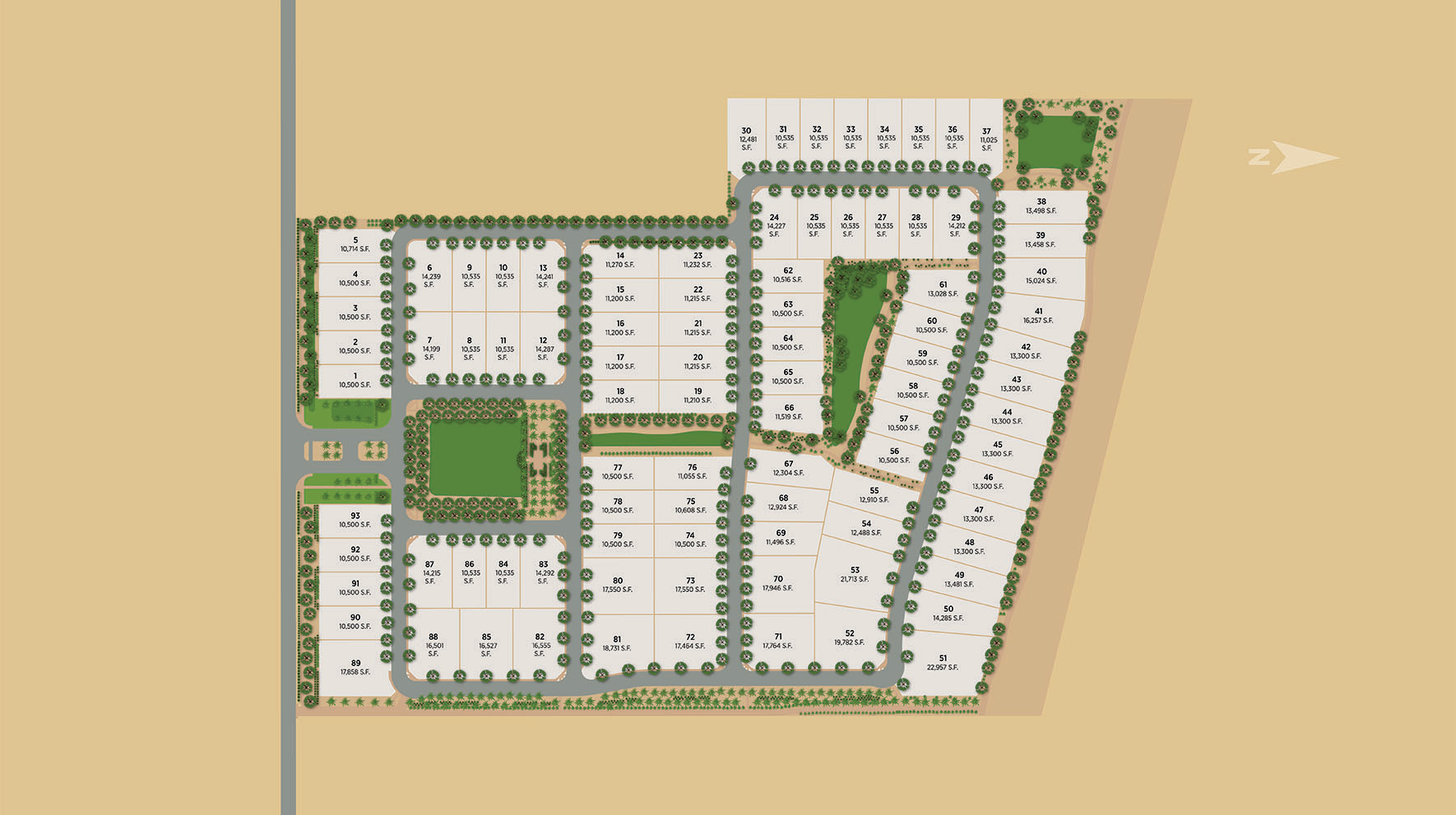 Caleda by Toll Brothers Site Plan