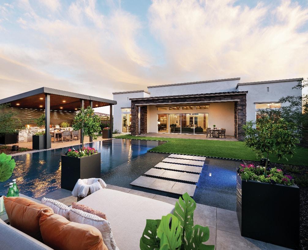 Seamless indoor outdoor living spaces