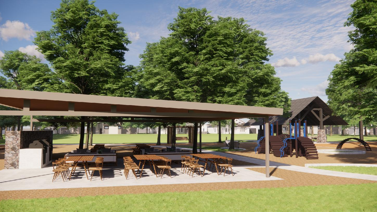 Bridle Ranch future community seating