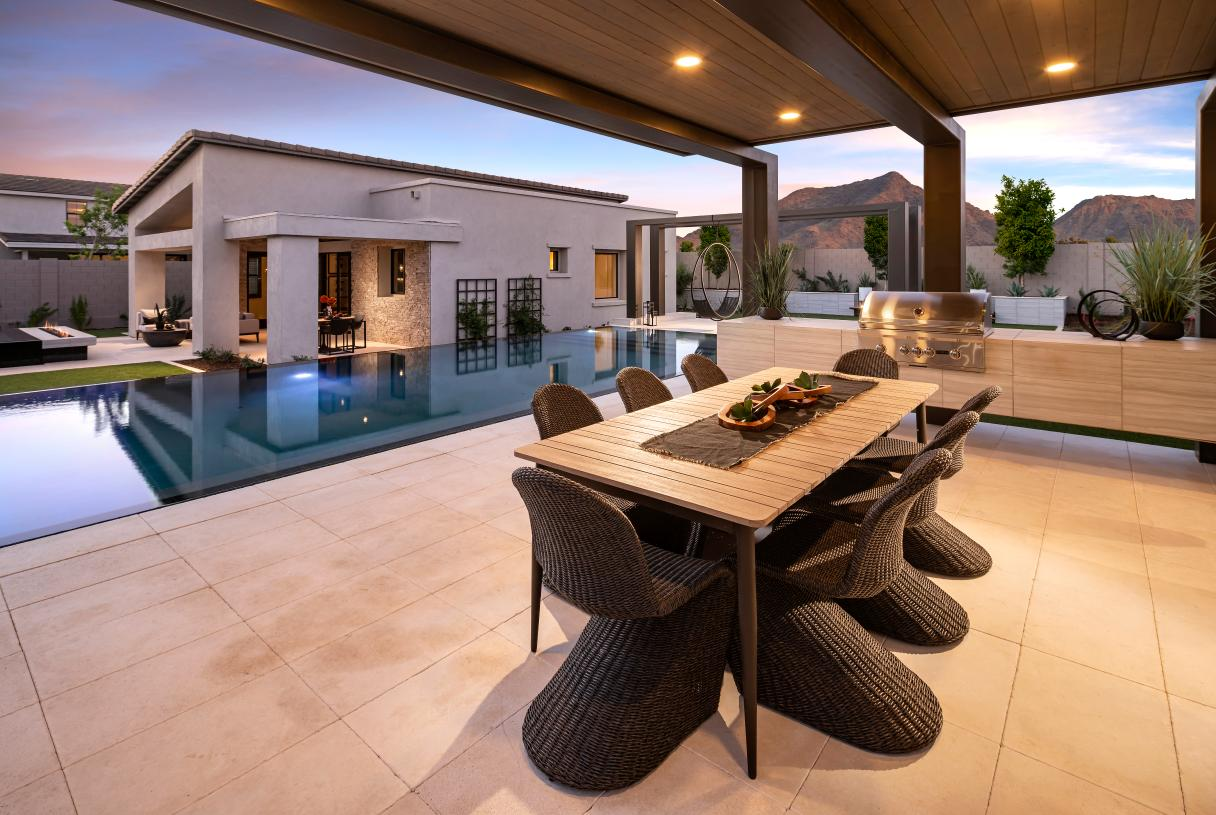 Beautiful outdoor entertaining spaces