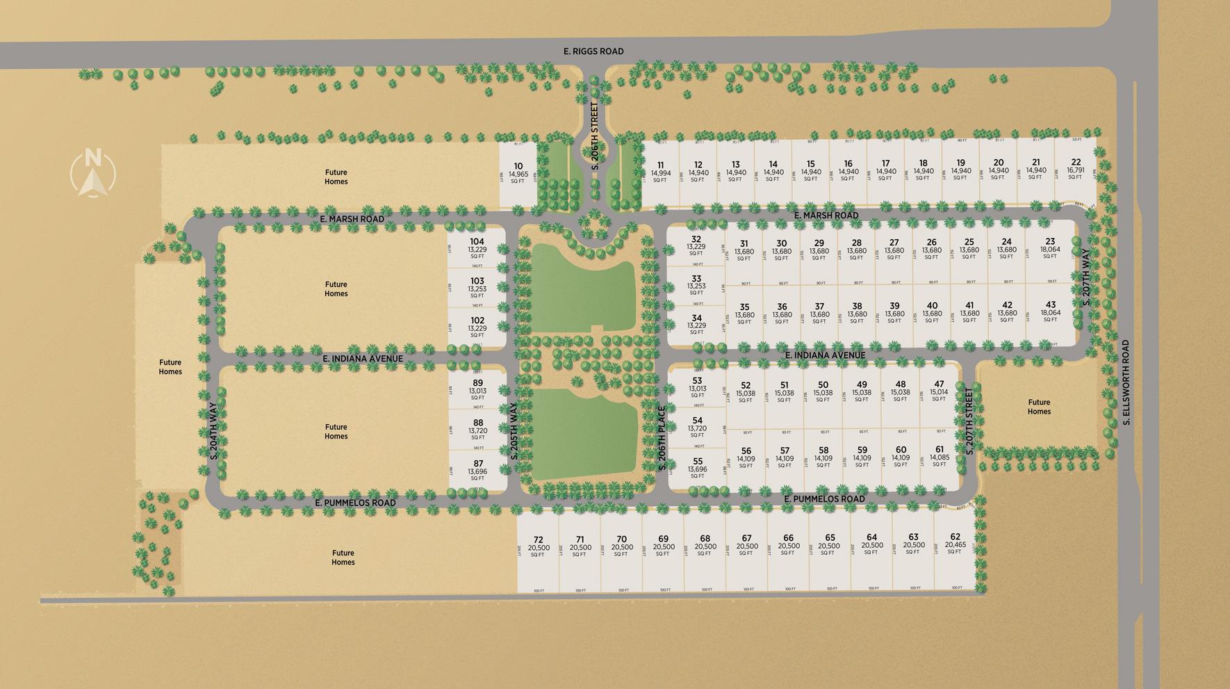 Bridle Ranch Site Plan