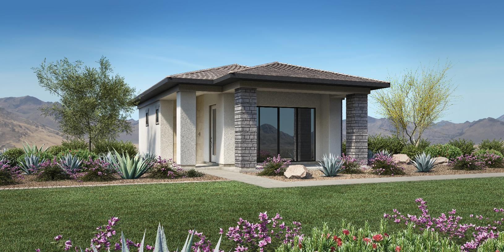 Optional Detached Guest Casita Available with Farmhouse, Craftsman, Desert Contemporary and Modern Exteriors