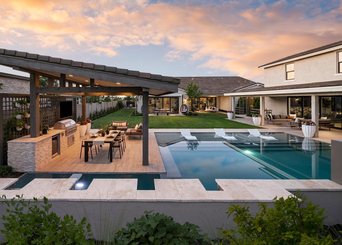 Beautiful backyards for entertaining