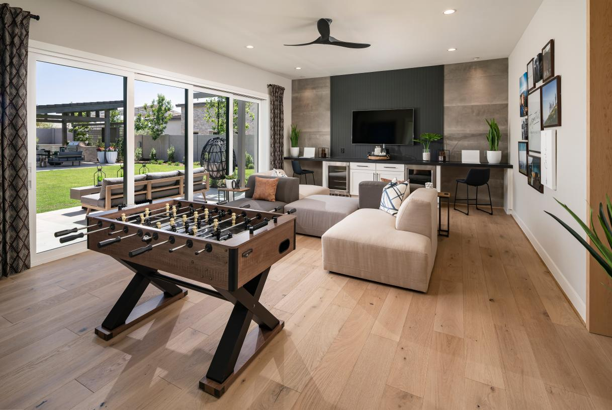 Versatile bonus rooms for additional living and entertaining space