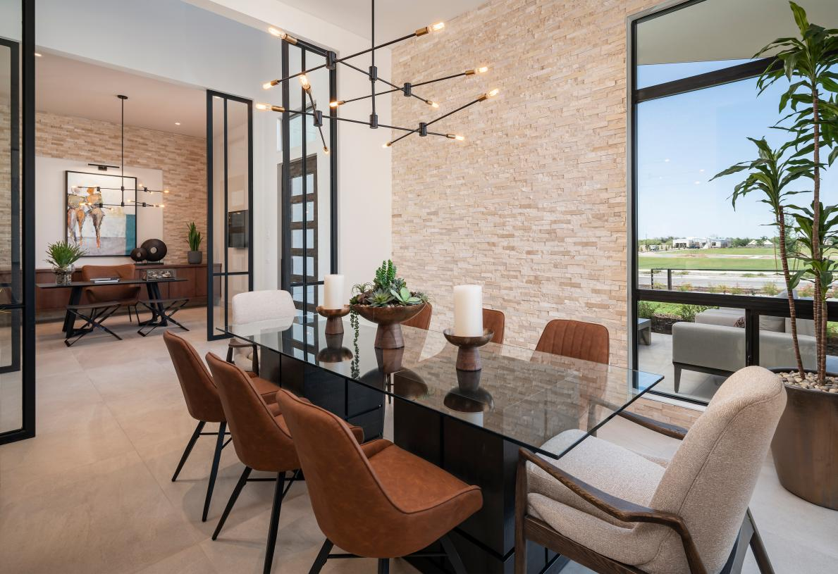 Dining rooms for formal entertaining