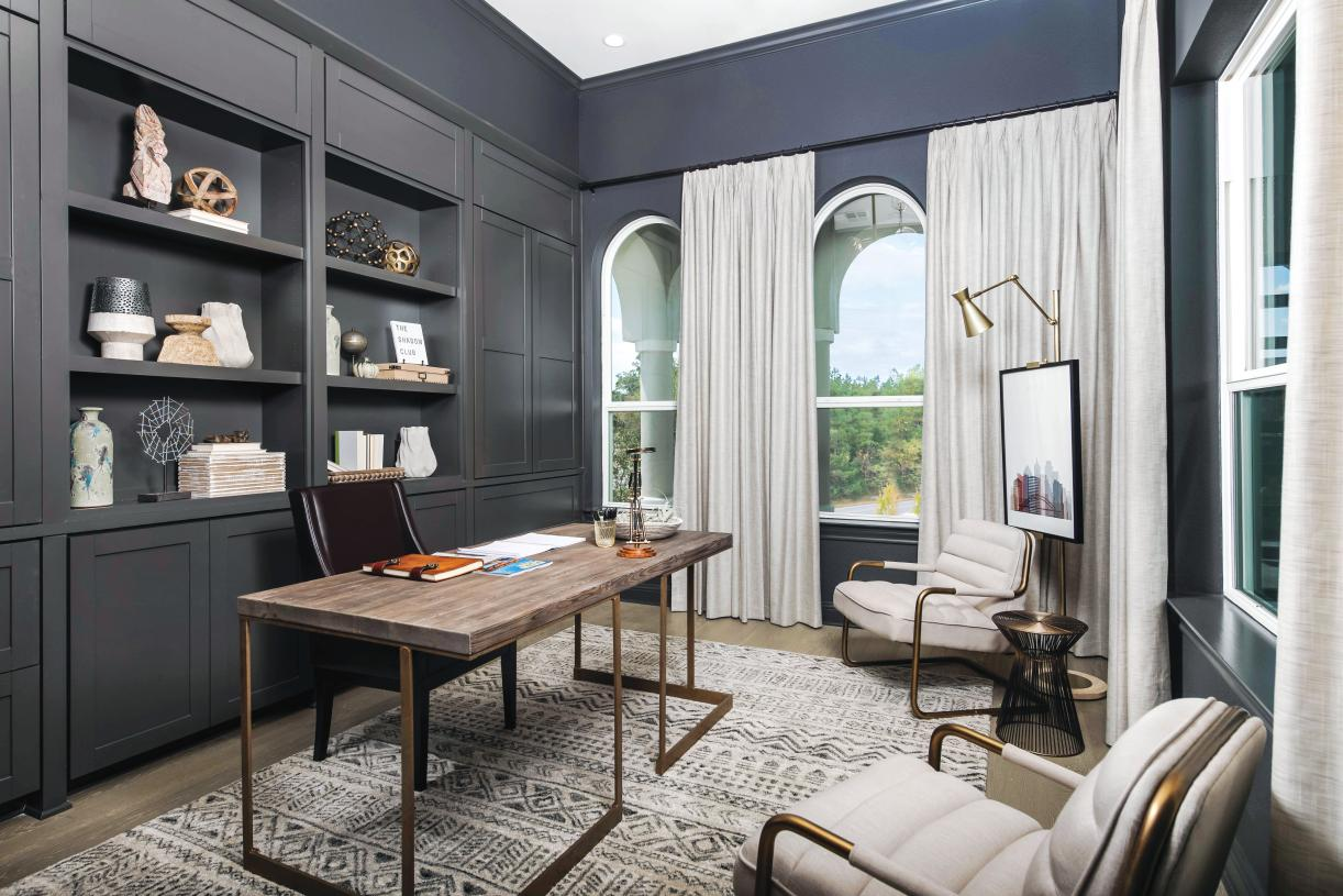 Vanguard secluded office is ideal for home office use
