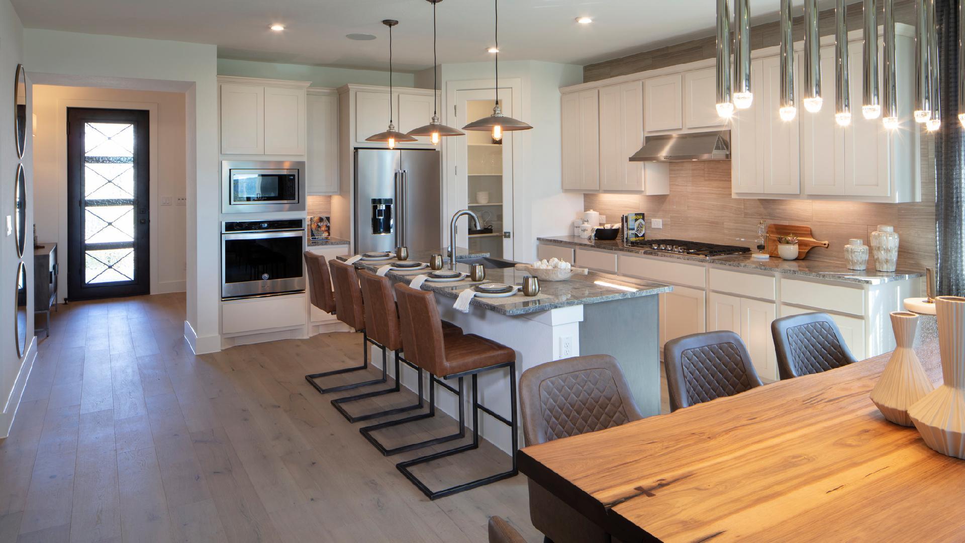 The well-designed Aiden kitchen