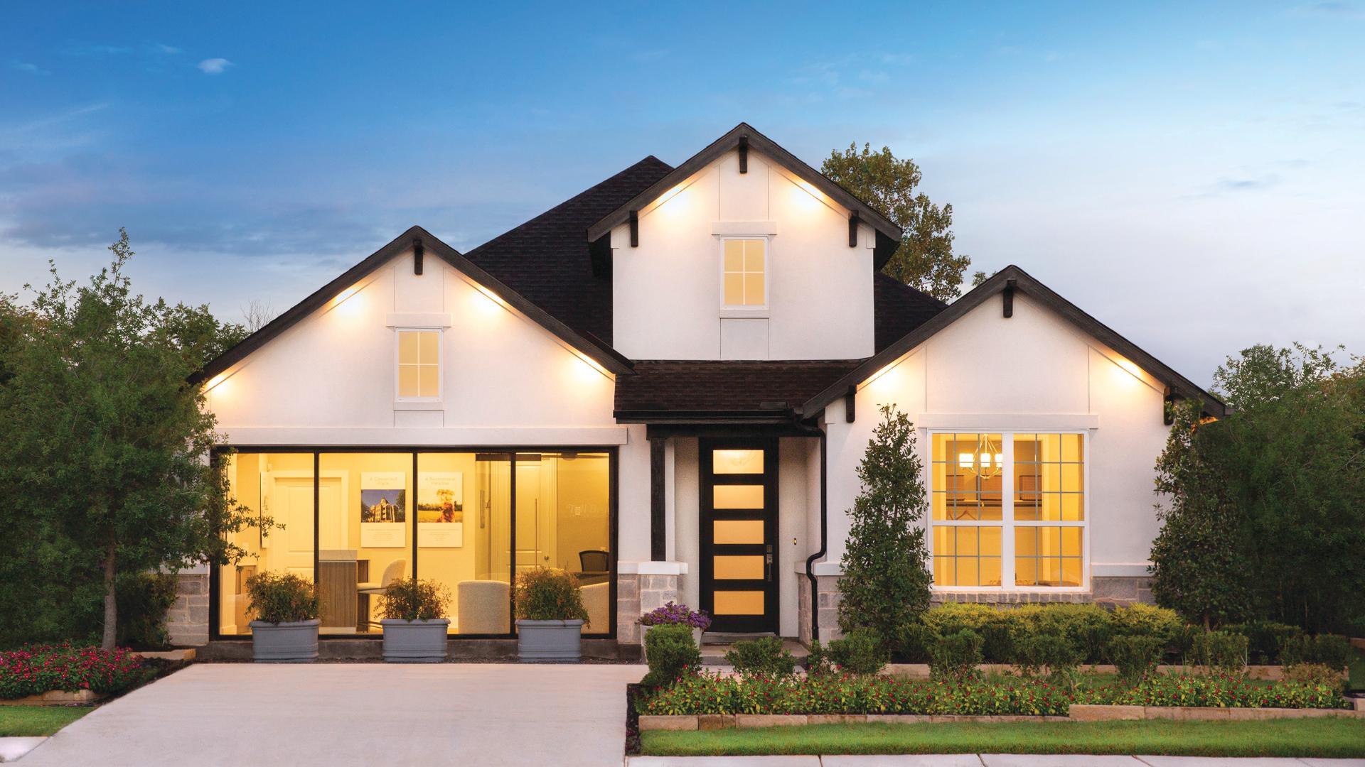 Corinna Model Home in Denton, TX