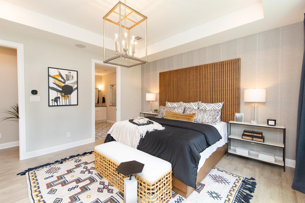 Corinna's spacious primary bedroom suite