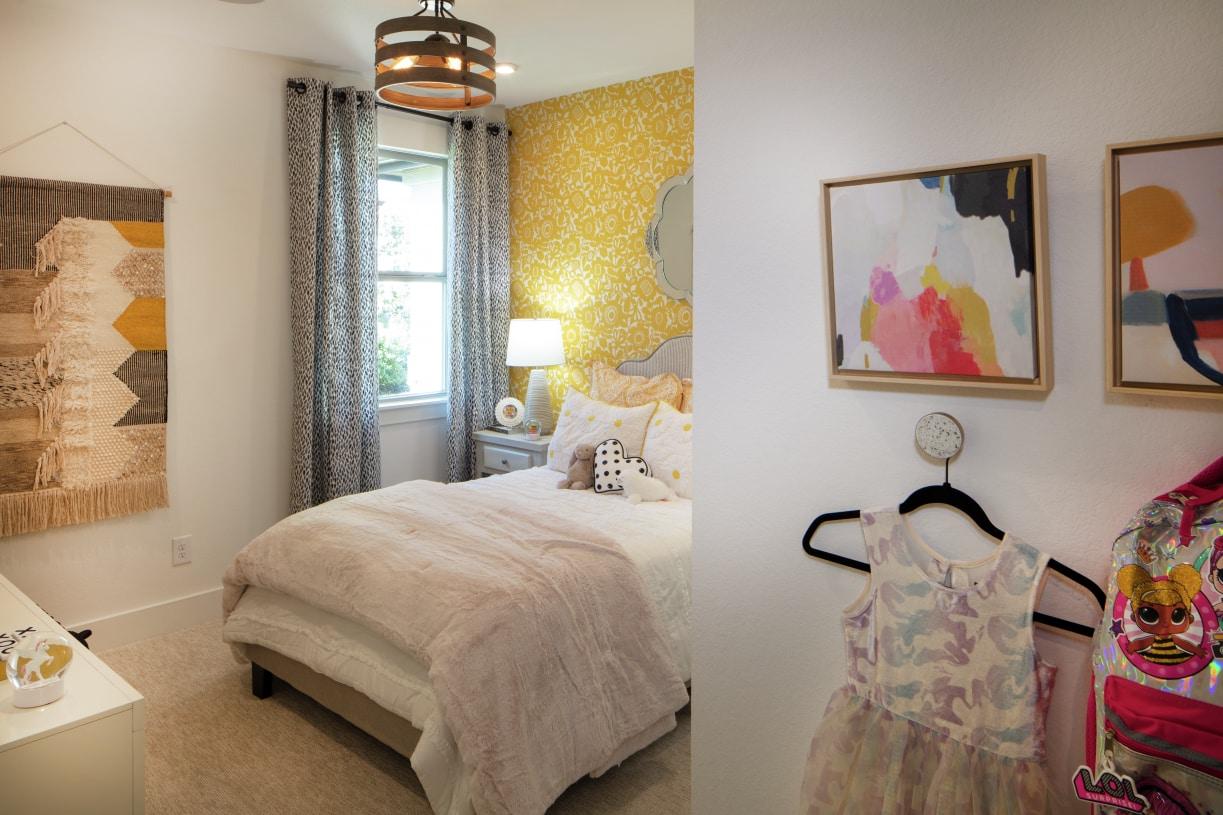 Versatile secondary bedrooms