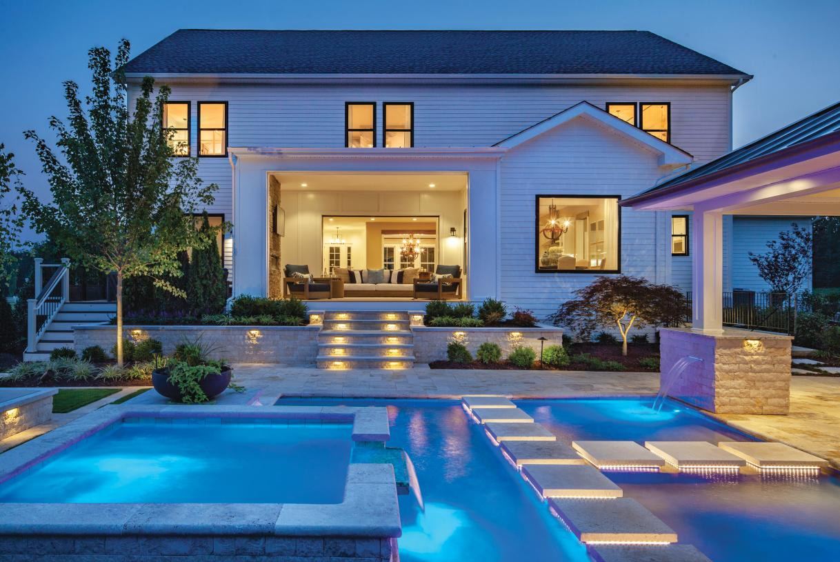 Expansive 1+ acre home sites allow for the ultimate outdoor oasis