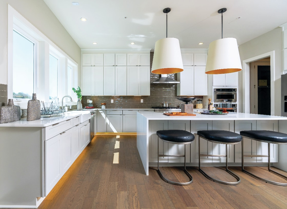 Well-appointed, gourmet kitchens