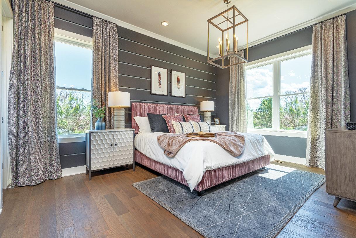 Convenient first-floor bedroom suites