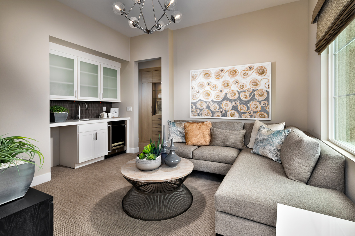 Inviting guest suite