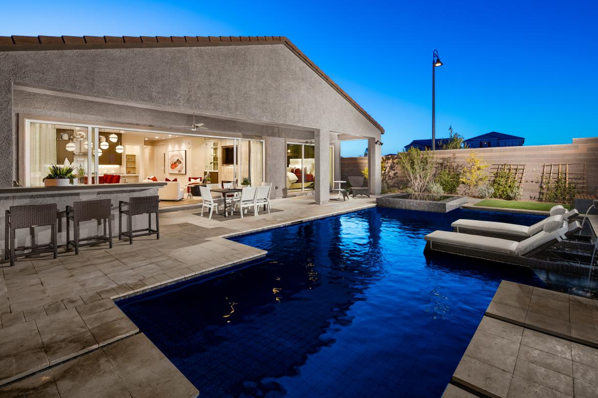 Outdoor living space perfect for entertaining