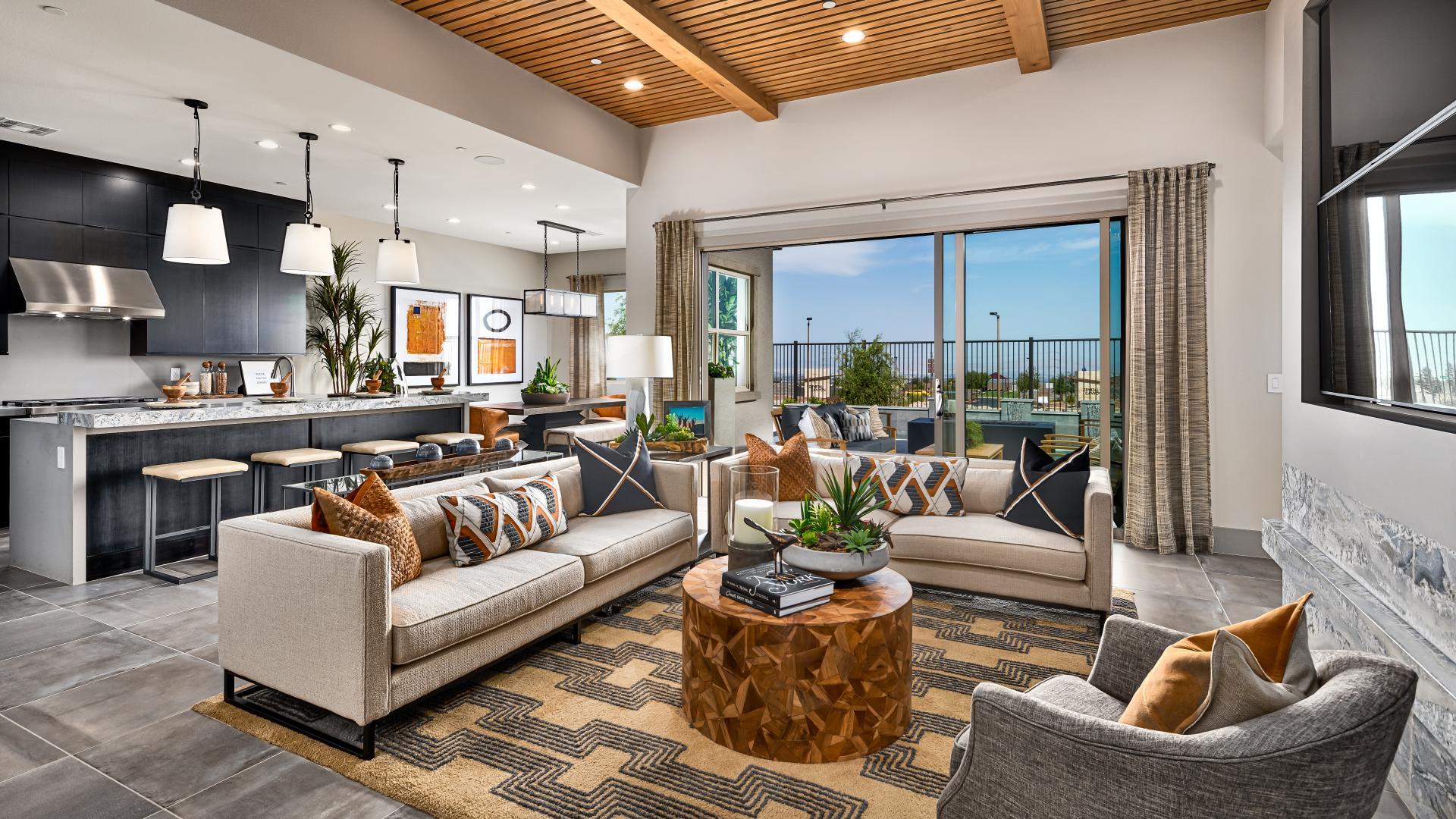 All home designs offer an open-concept floor plan