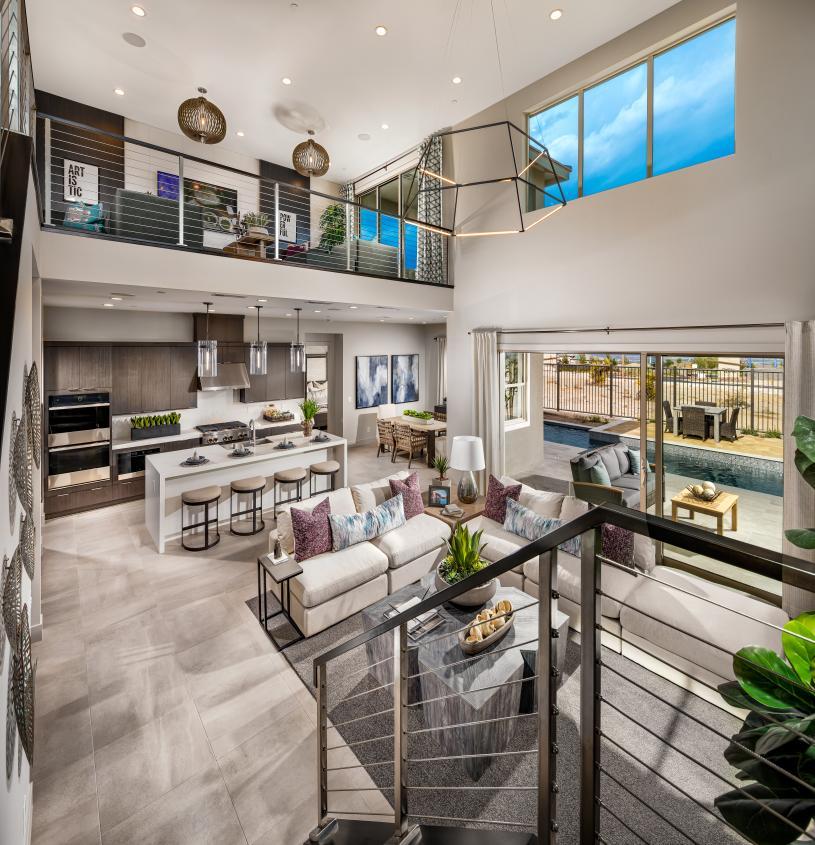 Stunning open-concept floor plan