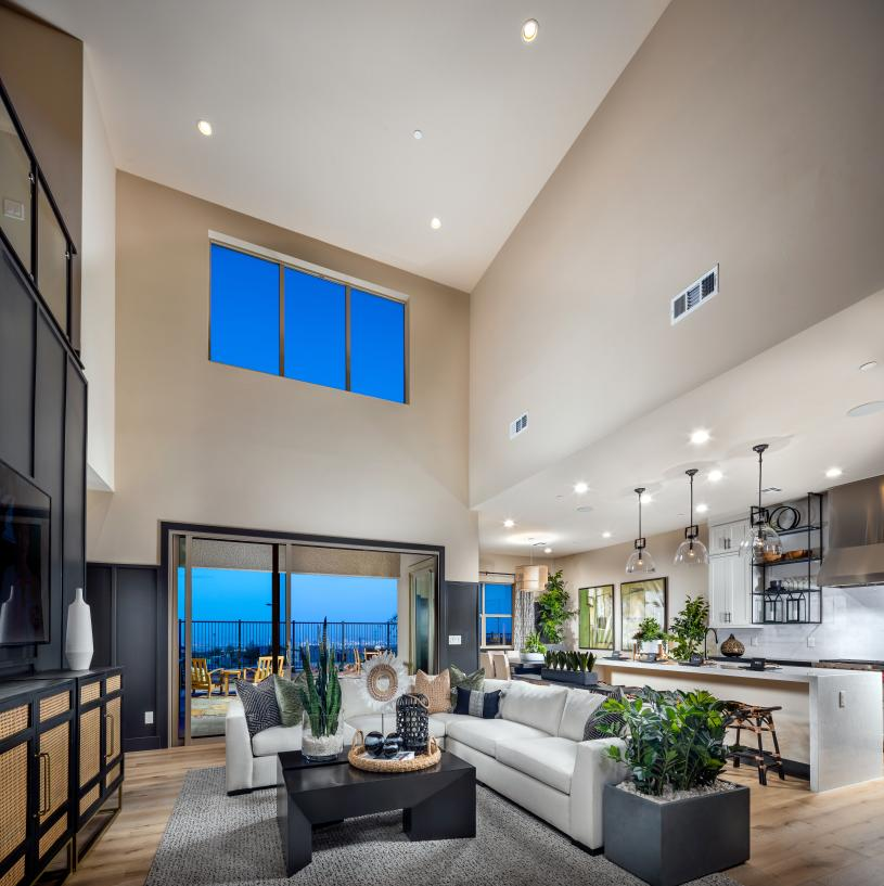 Impressive two-story great room