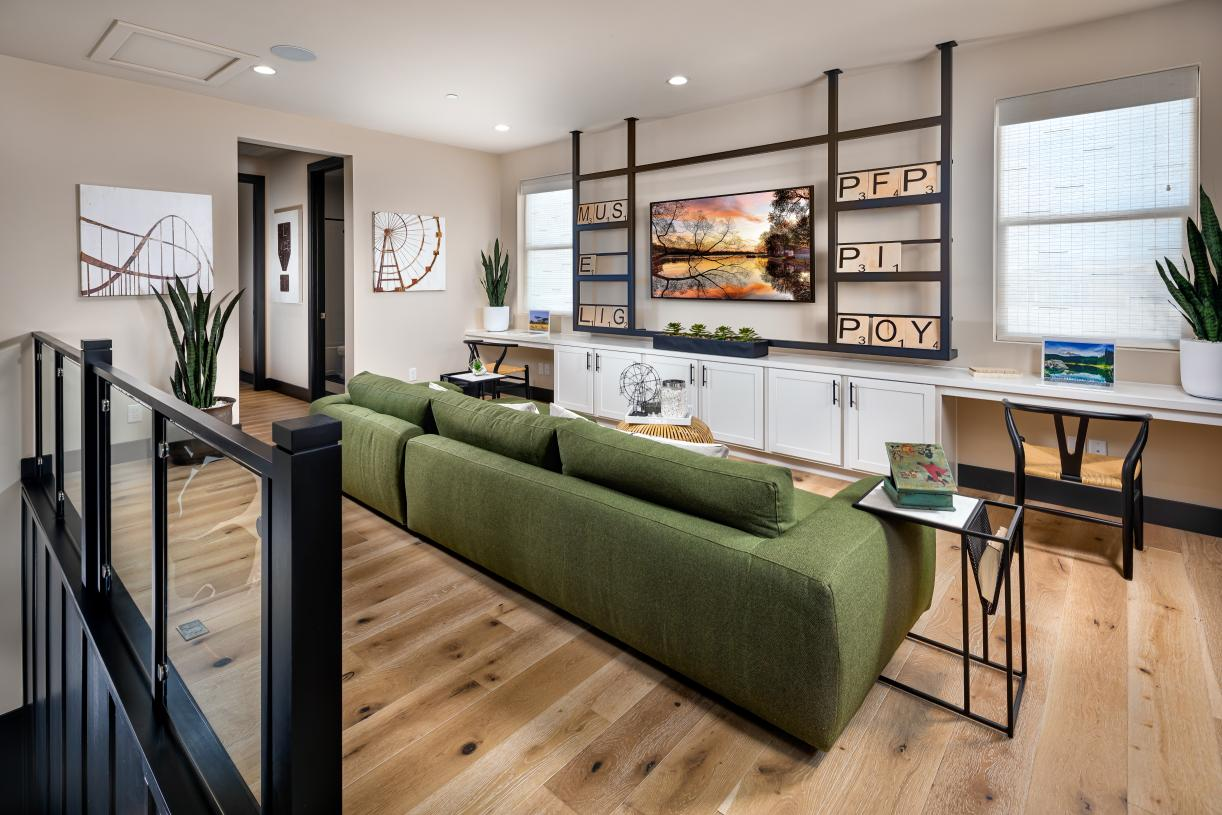 Generous loft offers versatile living and entertaining options