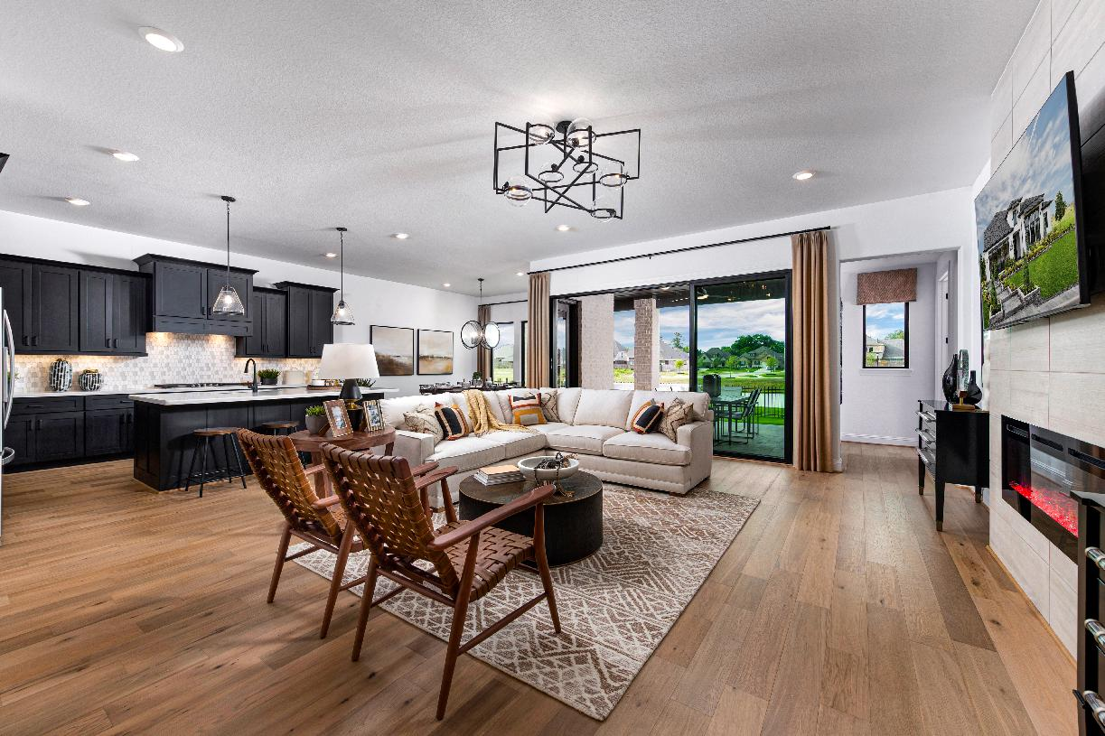 Spacious great room and perfect for entertaining