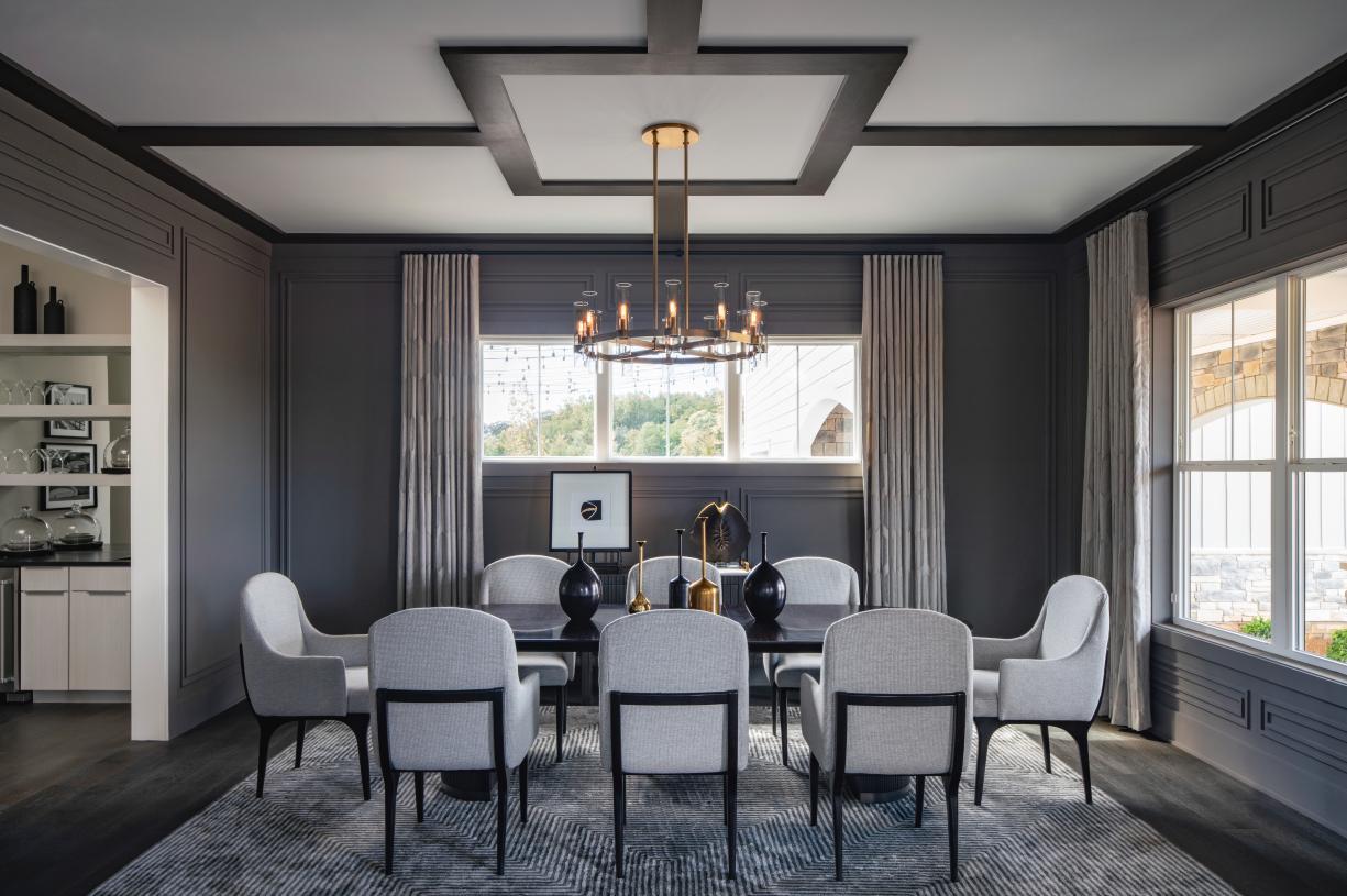 Palatine dining room