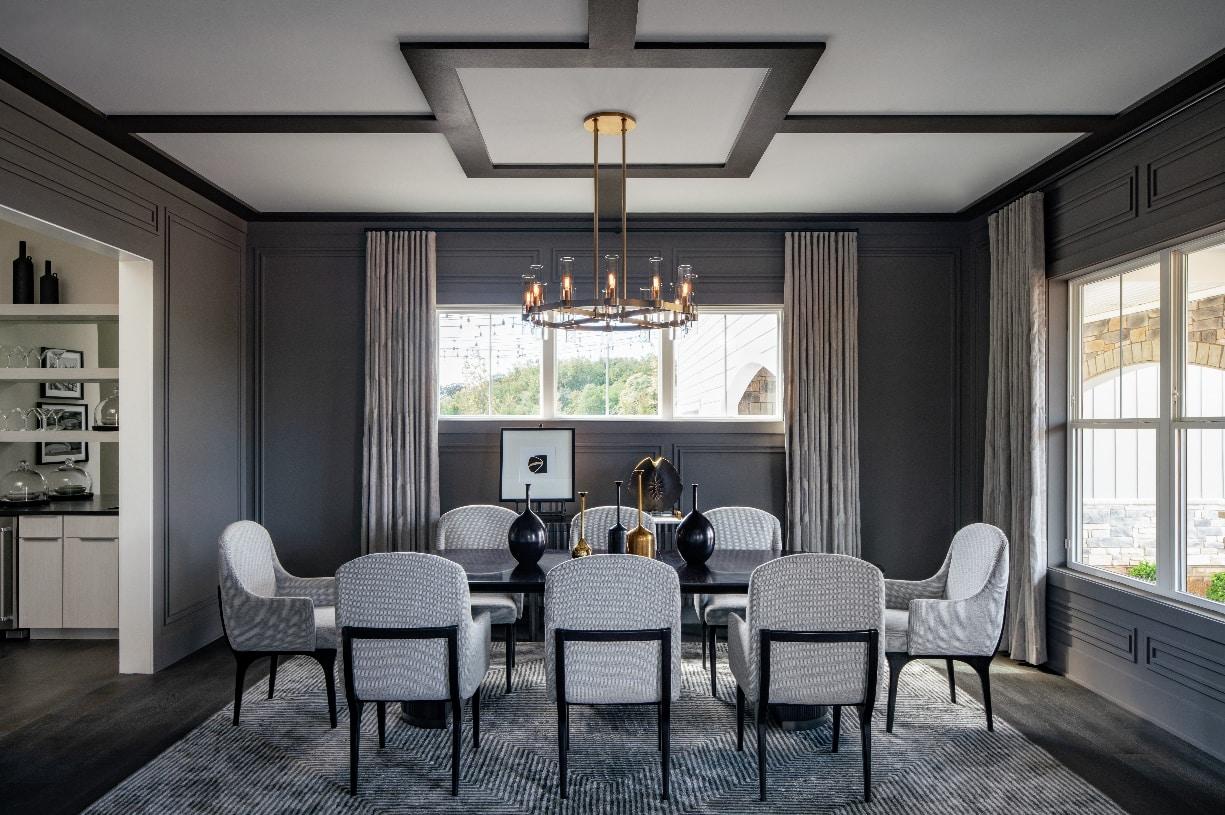 Entertain in formal dining room