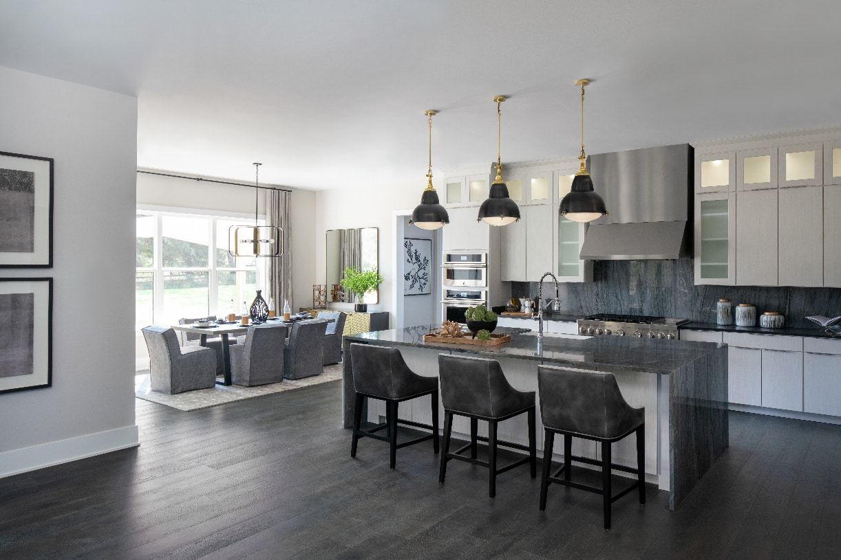 Open concept kitchen great for entertaining
