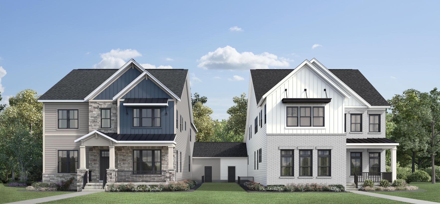 Attached exterior design options