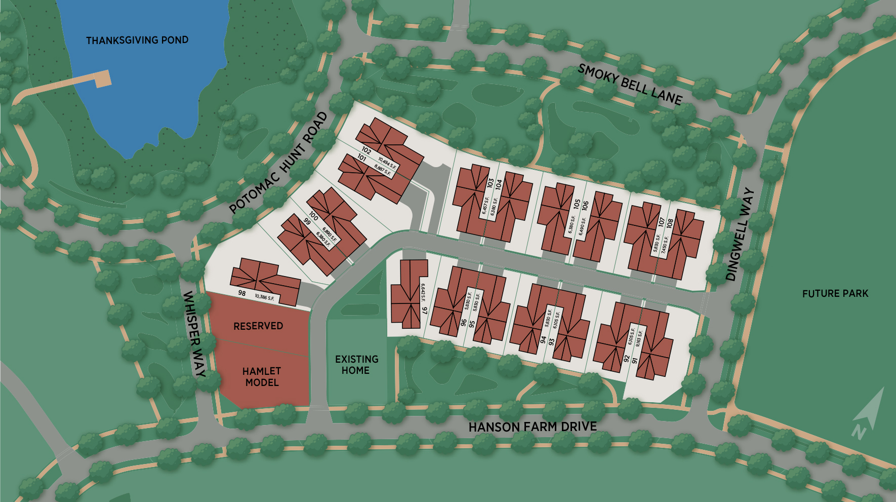 Mt. Prospect - The Hamlet Collection Site Plan