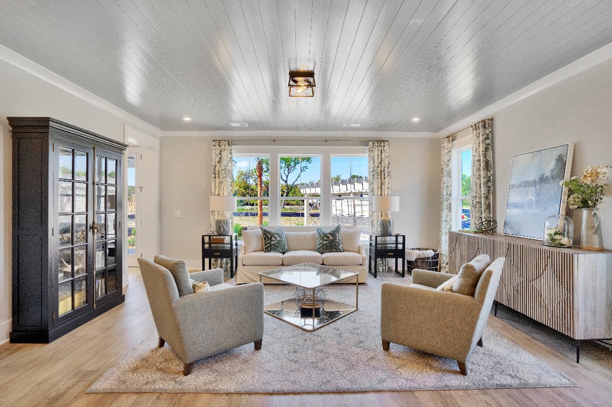 Open-concept floor plans ideal for entertaining