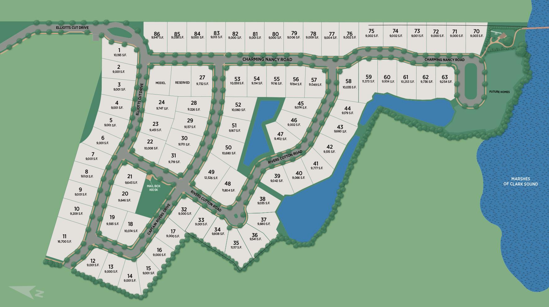 Bennett's Bluff Site Plan