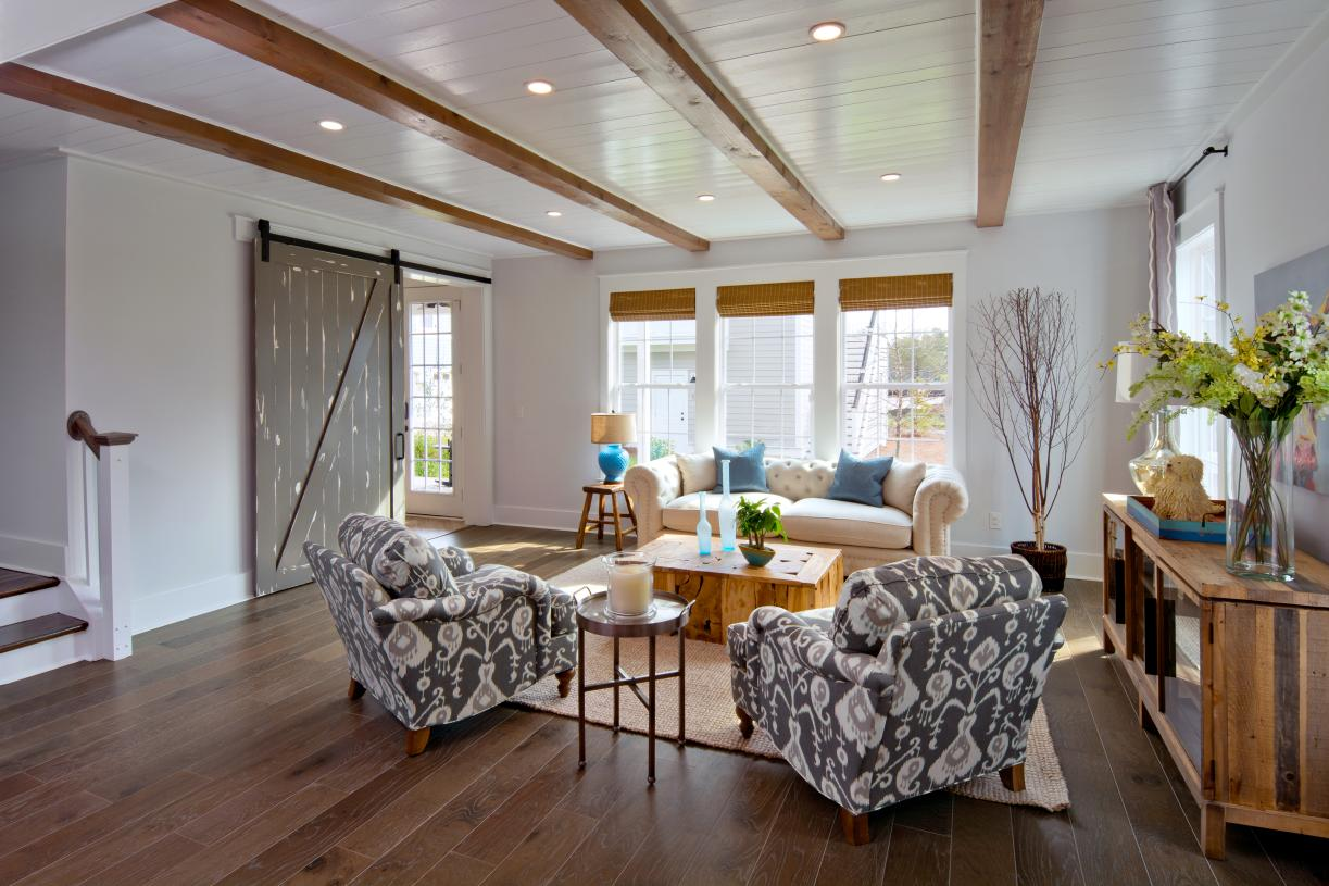 Versatile family rooms for additional living space