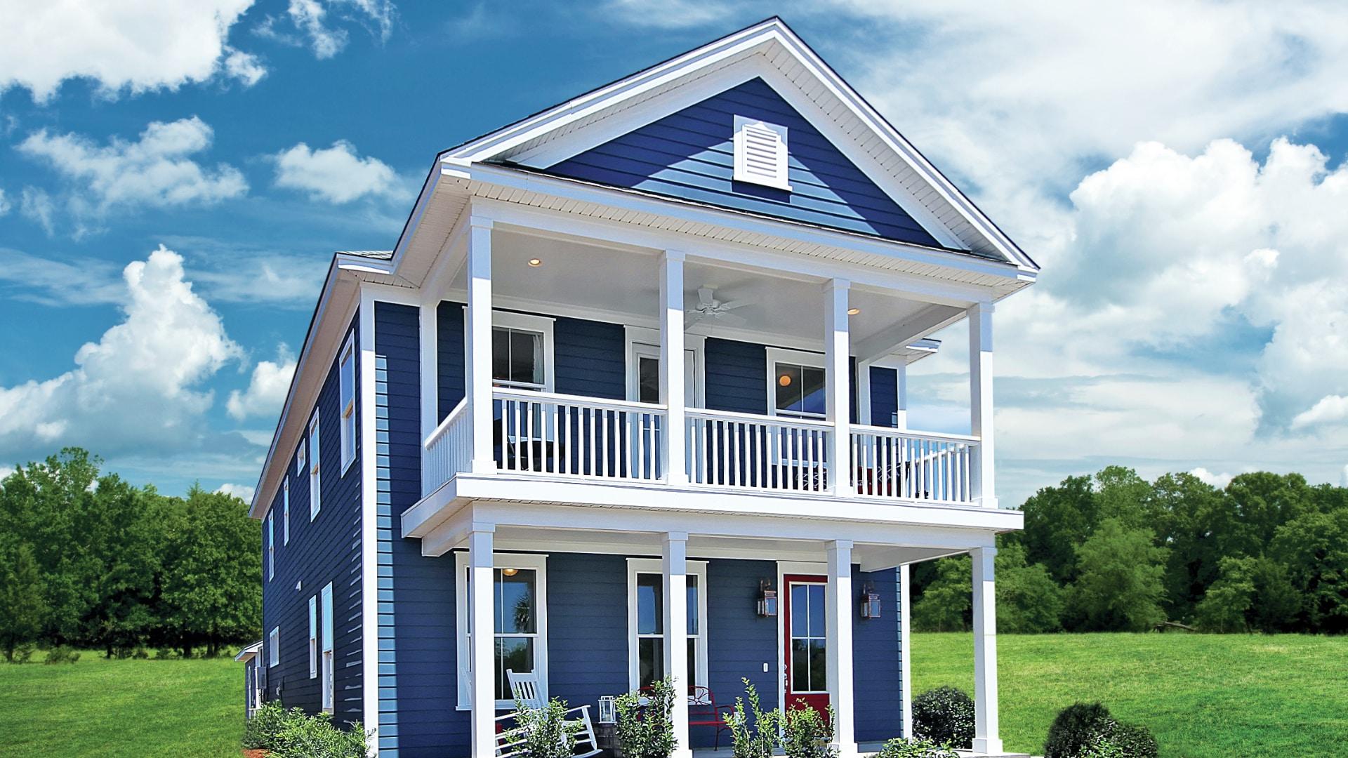 Johnston Pointe model home exterior