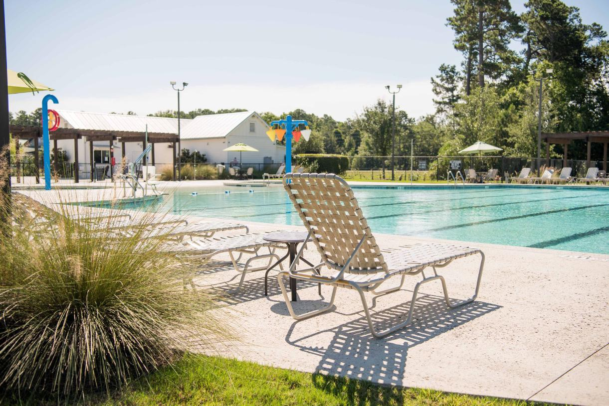 Carnes Crossroads community pool for ultimate relaxation