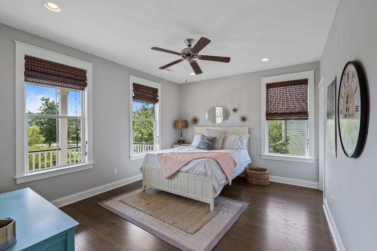 Spacious secondary bedroom suites with ample closet space