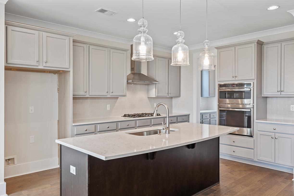 Beautiful kitchens with ample countertop and cabinet space