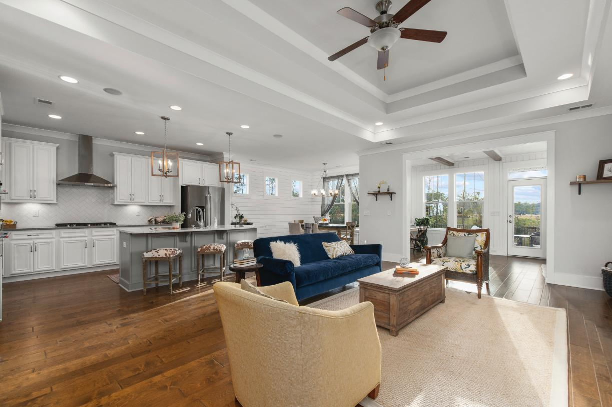 Spacious great rooms ideal for entertaining