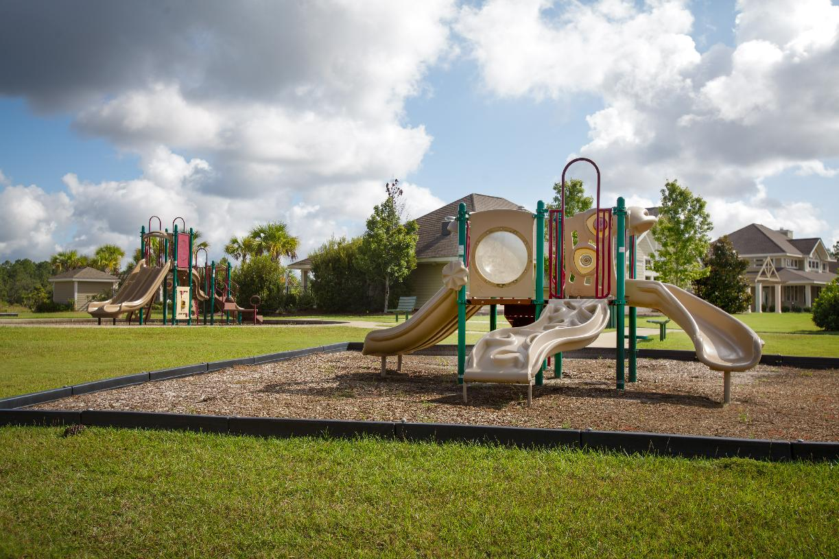 Community playgrounds for residents to enjoy