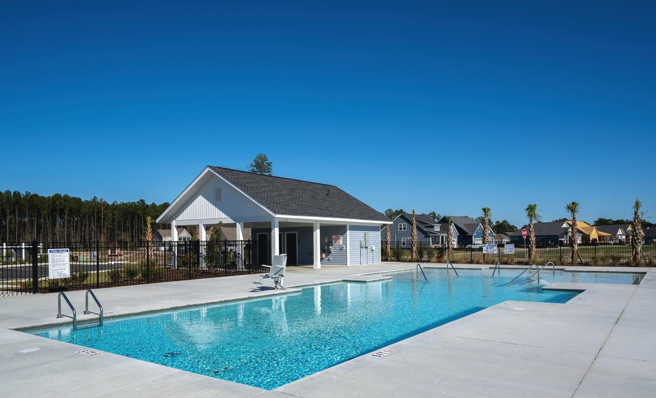 Community pool for fun and relaxation