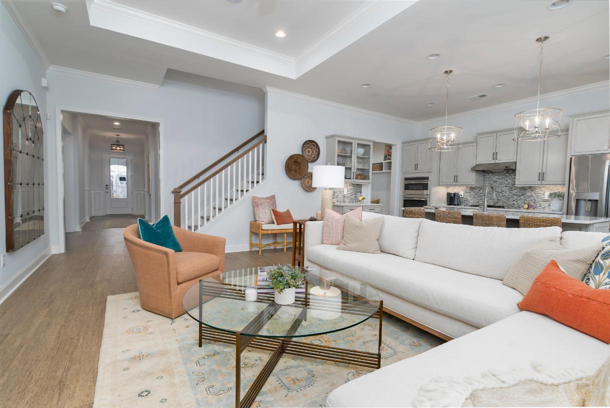 Open concept floor plans ideal for entertaining